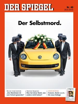 Der Spiegel S Cover Is A Searing Critique Of The Vw Scandal That